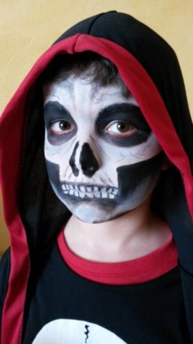 Halloween enfants squelettes