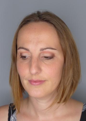 Audrey (après) cours de maquillage