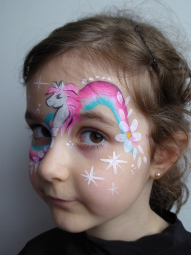Face Painting enfants Poney