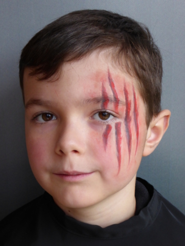 Halloween enfants blessures