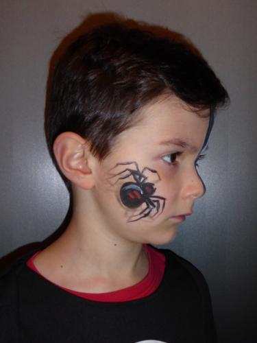 Halloween enfants araignée