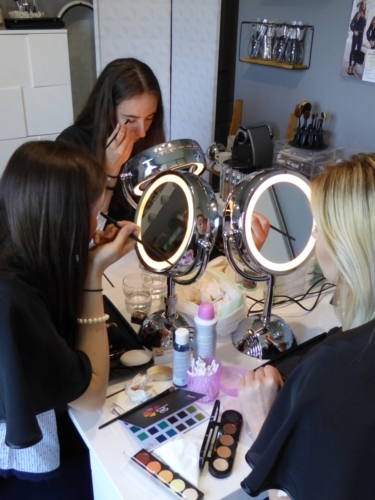 Cours maquillage Candidates Miss Bresse 2018