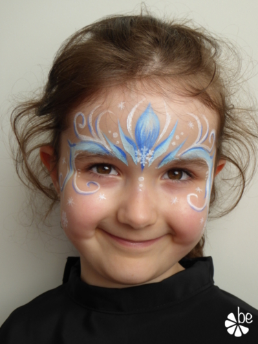 Face Painting enfants Reine des neiges